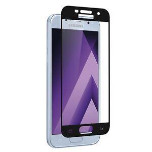 Samsung-Galaxy-A5-2017-A520-Film-protection-ecran-verre-trempe-resistant-NOIR