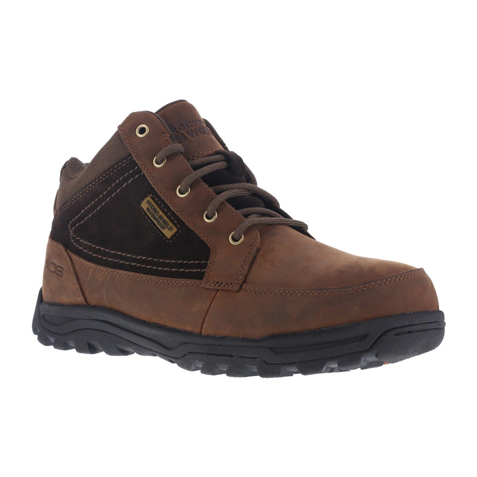 Rockport RK6671 Men's Trail Technique Steel Toe Waterproof Leather Work Boots