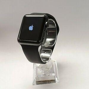 Irregularidades pastel Forzado  Apple Watch Series 2 42mm Space Gray NIKE with USED Original Black Sport  Band #3 | eBay