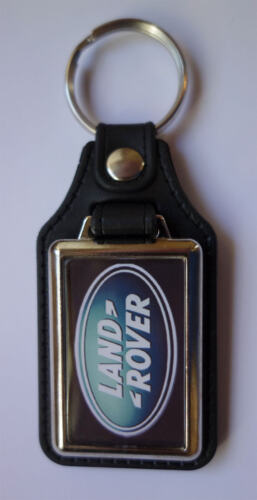 KEY FOB4X4,JEEPS,OFF ROADING JEEPS LAND ROVER RECTANGLE FAUX LEATHER KEY RING