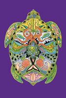 Toland Garden Flag Totem Animal Spirits Sea Turtle 12.5 X 18 Made In Usa