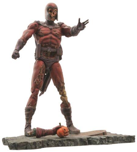 UK Seller Zombie Magneto Marvel Select Villain Zombies Action Figure