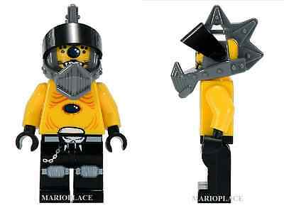LEGO Space Police 3 - Snake with Visor - Alien - MINIFIG  MINIFIGURE NEW