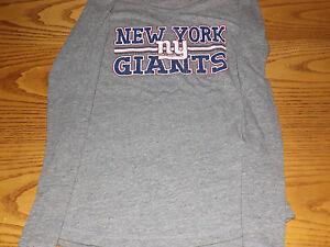 NEW-YORK-GIANTS-NFL-TEAM-APPARE-1ST-FASHION-WOMENS-LONG-SLEEVE-SHIRT-MEDIUM