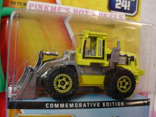 2013 Matchbox 60th Comm #03 QUARRY KING loader  w//box ~Yellow w//chrome Bucket~
