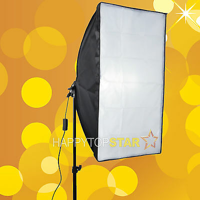 Softbox for Strobe Flash 50cm x 70cm Slave Flash/Bulb Swivel Adapter Soft box