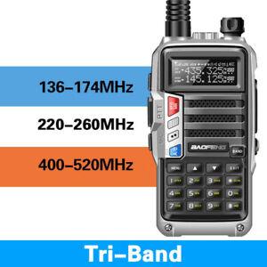 BaoFeng-UV-S9-Tri-Band-8W-2x-Antenna-Long-Range-Walkie-Talkie-Two-Way-Radio-New