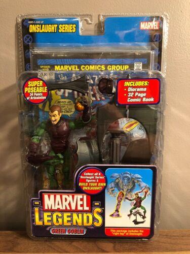 Green Goblin Unmasked VARIANT Marvel legends Onslaught Series Toybiz figure