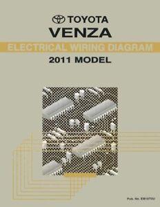 [ZHKZ_3066]  2011 Toyota Venza Wiring Diagrams Schematics Layout Factory OEM | eBay | Venza Wiring Diagram |  | eBay