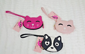 NWT-BETSEY-LUV-BY-BETSEY-JOHNSON-WOMEN-ZIP-AROUND-CAT-DOG-WALLET-COIN-PURSE