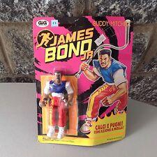 Vintage 1992 #James Bond Jr Buddy Mitchell  Figure Hasbro# Mosc  European Carded
