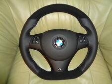 TUNING Lederlenkrad M Paket BMW E90 E91 E92 E93 E81 E82 E87 UNTEN ABGEFLACHT