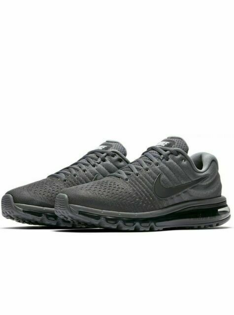 Size 9.5 - Nike Air Max 2017 Cool Grey - 849559-008