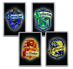 hogwarts wappen harry potter gryffindor slytherin auswahl 4 bilder ebay. Black Bedroom Furniture Sets. Home Design Ideas