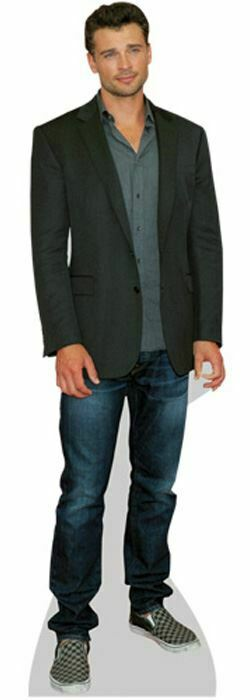 Tom Welling Casual Life Size Cutout
