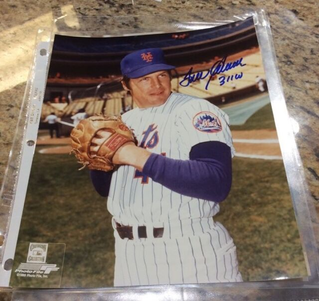"Tom Seaver NY Mets Autograph 1969  ""Miracle Mets""' Cooperstown Collection"