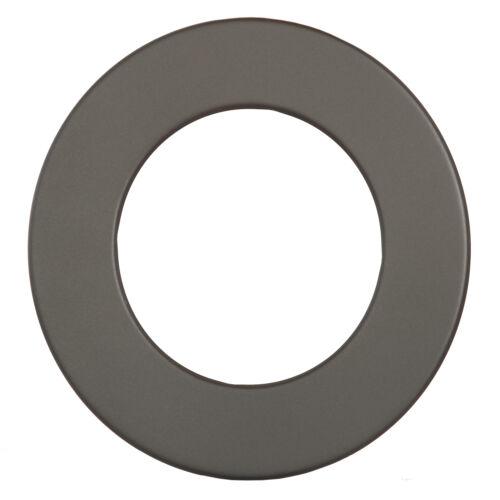 Rosette grau Ø 155 mm Wand Ofen Ofenrosette Ofenwandrosette Ofenrohrrosette neu
