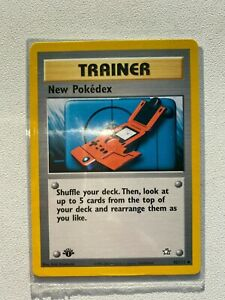 1st Edition NEW POKEDEX TRAINER #95/111 Neo Genesis Pokemon Set (PSA 10 Ready)