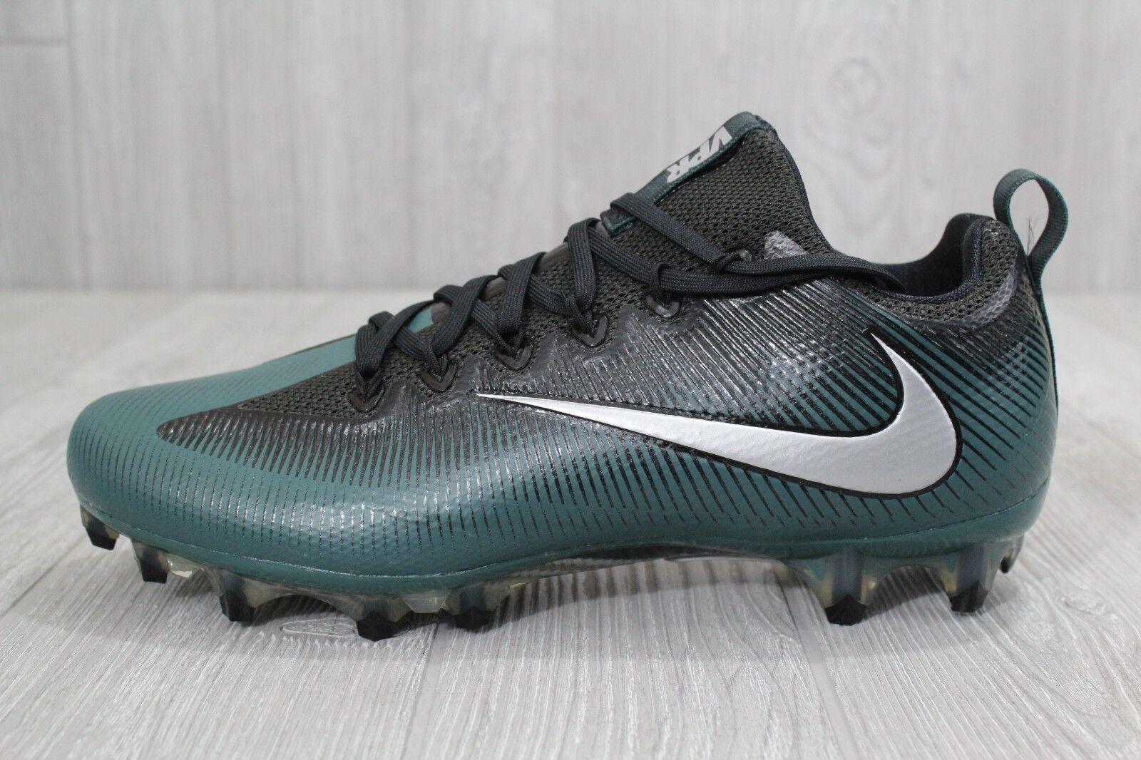 25 Nike Vapor Untouchable Pro Football Cleats Green Black 839924-324 10 -11.5