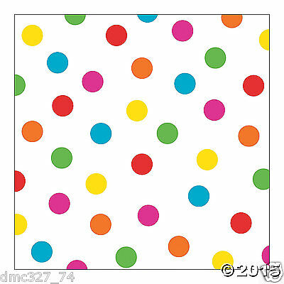 CIRCUS Carnival Party Birthday Shower Photo Booth Bright POLKA DOT BACKDROP Prop