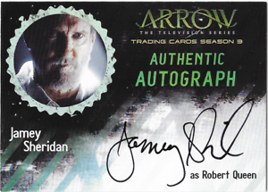 Arrow-Season-3-Auto-Autograph-Card-Jamey-Sheridan-Robert-Queen-JS