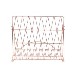 Livre de cuisine support cuivre géométrique moderne cuisine livre de recettes Display Holder