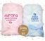 Super Doux d/'un logo brodé cadeau Personnalisé Bébé fille et garçon Moelleux couvertures
