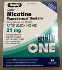 Rugby 21mg Nicotine Transdermal System Patch - 14 Count