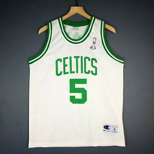 the best attitude 052db 6bf37 Details about 100% Authentic Kevin Garnett Vintage Champion Celtics Jersey  Size M 40 Mens