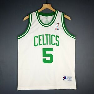 the best attitude 7ca5a 8d234 Details about 100% Authentic Kevin Garnett Vintage Champion Celtics Jersey  Size M 40 Mens
