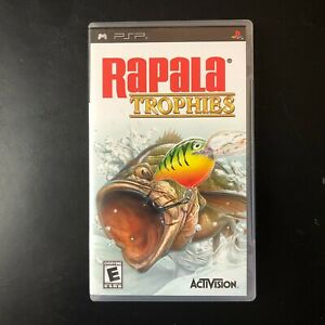 Rapala-Trophies-Video-Game-Sony-PlayStation-Portable-PSP-2006-Used-amp-Tested