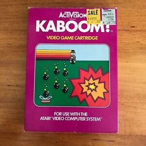 Vintage-Atari-2600-Game-Cartridge-Activision-Kaboom