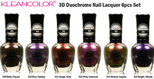 KLEANCOLOR 3D DUOCHROME Nail Polish Set of 6 Nail Lacquer 15 ml Bottles NEW k22