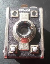 Gevaert Geva Box Box-Kamera Rollfilm Germany 6x9