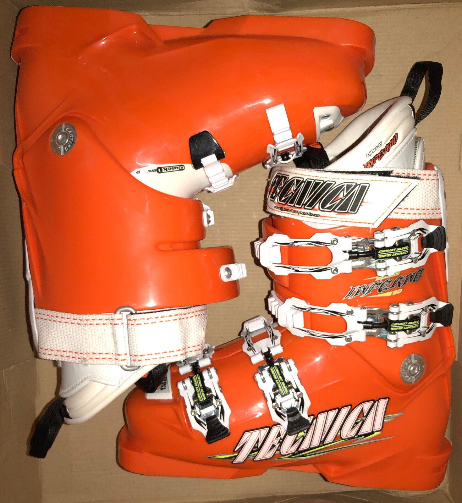 New Tecnica Diablo Inferno 90 junior ski boots, mondo 23 or 23.5 options