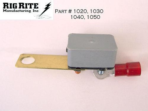 12 Or 24 Volt # 485 Rig Rite Female Trolling Motor Plug 10 AWG 2 Wire /& 3 Slot