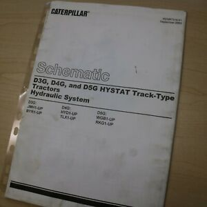 CAT CATERPILLAR D3G D4G D5G CRAWLER TRACTOR DOZER OPERATION /& MAINTENANCE MANUAL