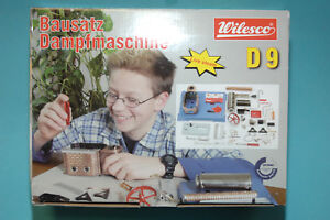 00009 D9 Vapeur Machine À Neuf Wilesco De Kit Montage TwCUqCnfx