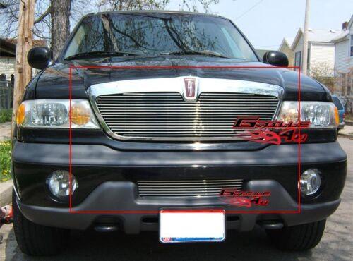 Fits 1998-2002 Lincoln Navigator Billet Grille Combo