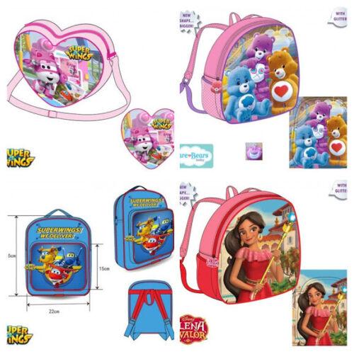Kinderrucksack Rucksack Mädchentasche Tasche Herz Glücksbärchen Elena Super Wing