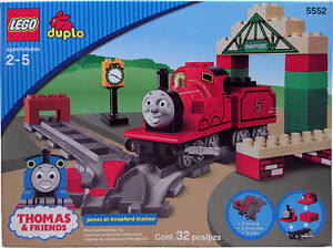 NEW-Lego-Duplo-Thomas-amp-Friends-5552-James-at-Knapford-Station-Sealed-Boys-Girls