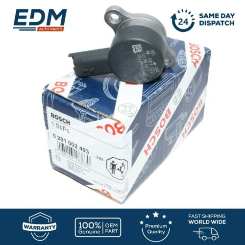 BOSCH Fuel Pressure Regulator Common Rail DRV Citroen Peugeot 0281002872 Genuine
