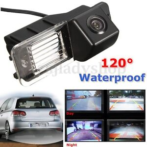 Details about Car Rear View Reverse Reversing Camera Kit Night Version For  VW Golf MK6 GTI MK7
