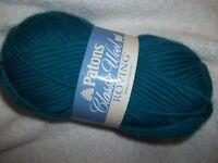 Spinrite 241077-77203 Classic Wool Roving Yarn-Pacific Teal