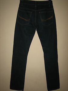 3P-MENS-SLIM-FIT-STRAIGHT-LEG-NEW-LOOK-JEANS-BUTTON-FLY-WAIST-28R-LEG-30