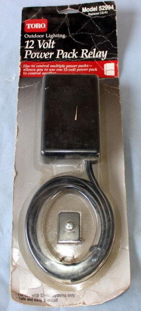 Toro Pack Relay 12v Outdoor Lighting 52994 New In