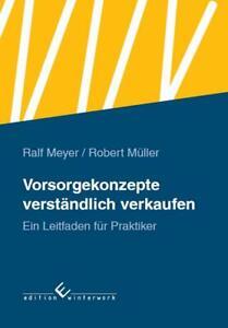 Buch, Vorsorgekonzepte verständlich verkaufen von Ralf Meyer und Robert Müller