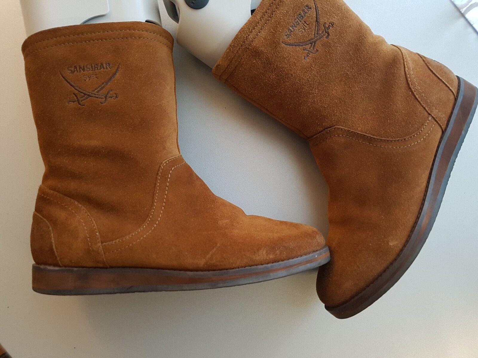 großhandel billig Sansibar Damen Stiefel Wildleder