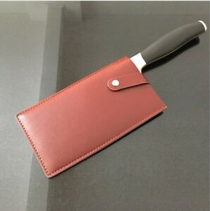 Chinese-Chef-039-s-Knife-Sheath-Leather-Chopper-Cleaver-Knife-Bag-Blade-Guard-Case