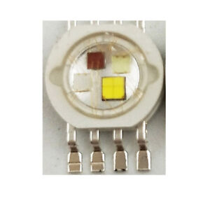 50pcs 4W RGBW high power led bead Lamp light red green blue white 1W each chip